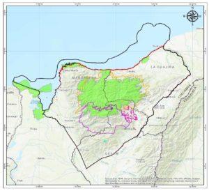 Línea Negra de la Sierra Nevada de Santa Marta