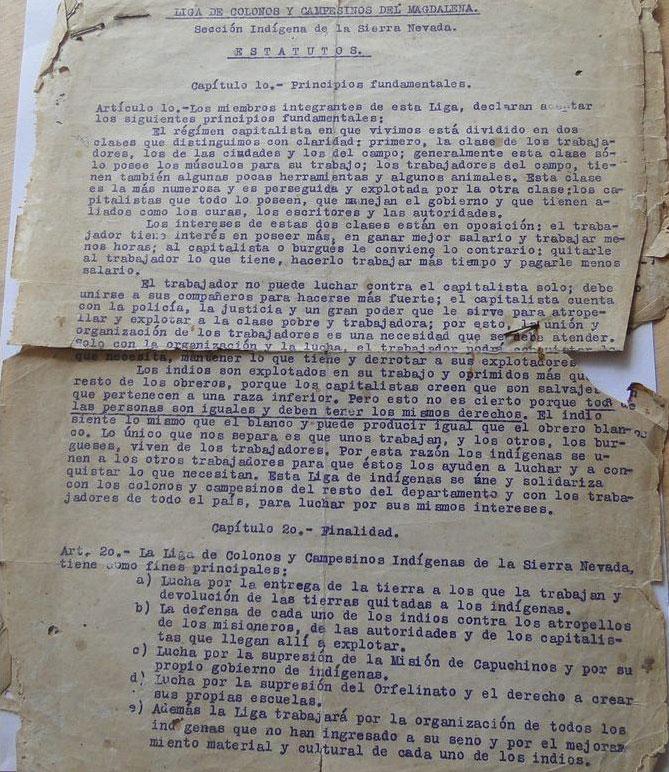 arhuacos y la masacre de las bananeras | Confederación Indígena Tayrona