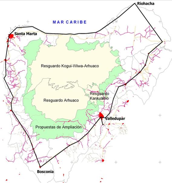 Territorio Ancestral Arhuaco